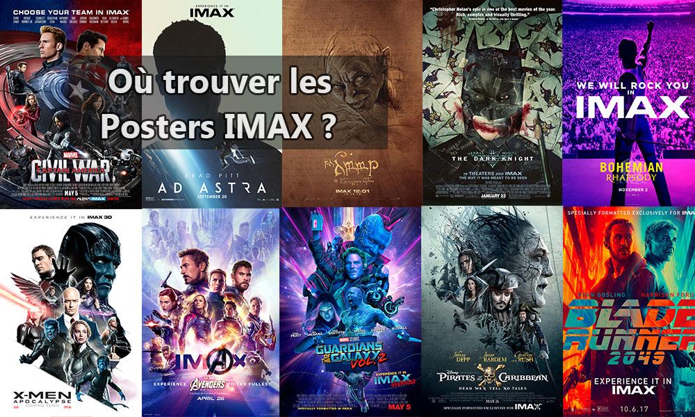 Où trouver les posters IMAX ?
