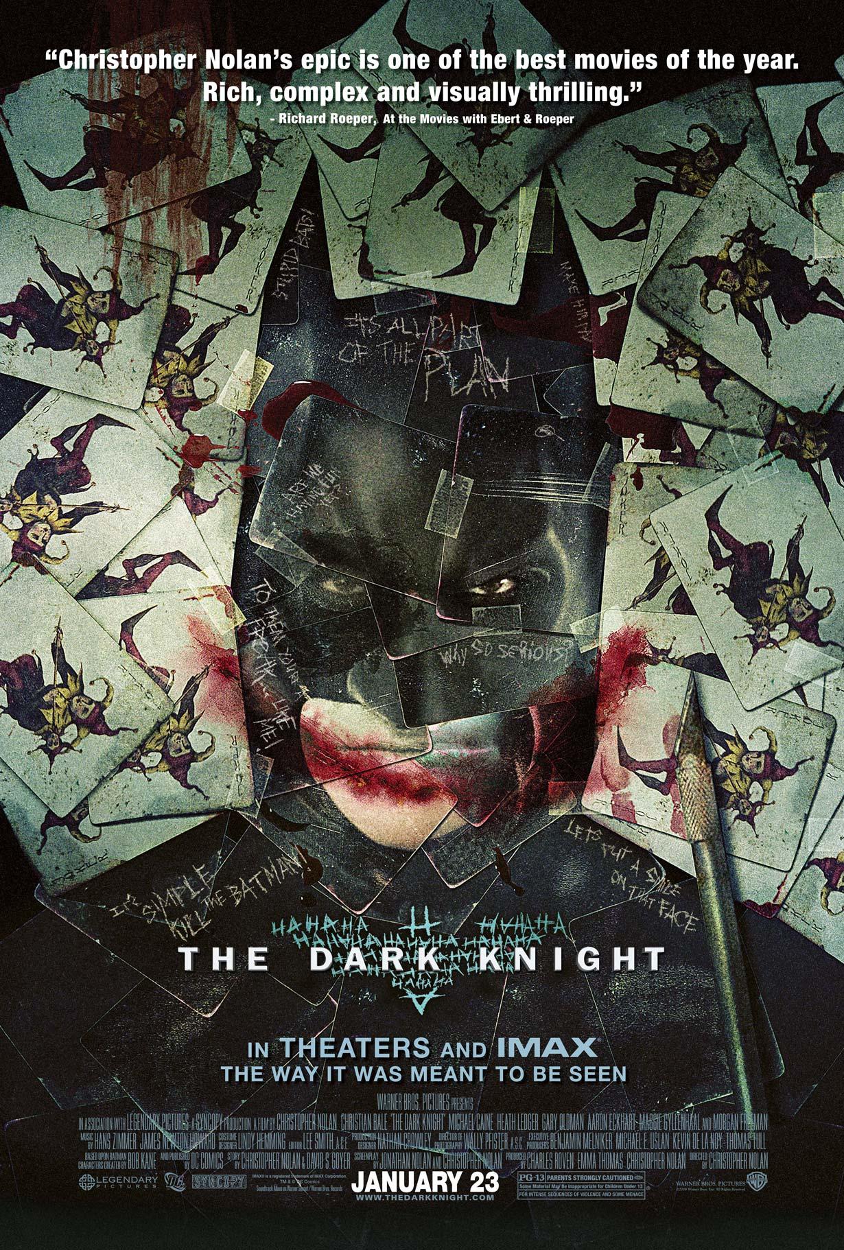 Poster IMAX Batman The Dark Knight