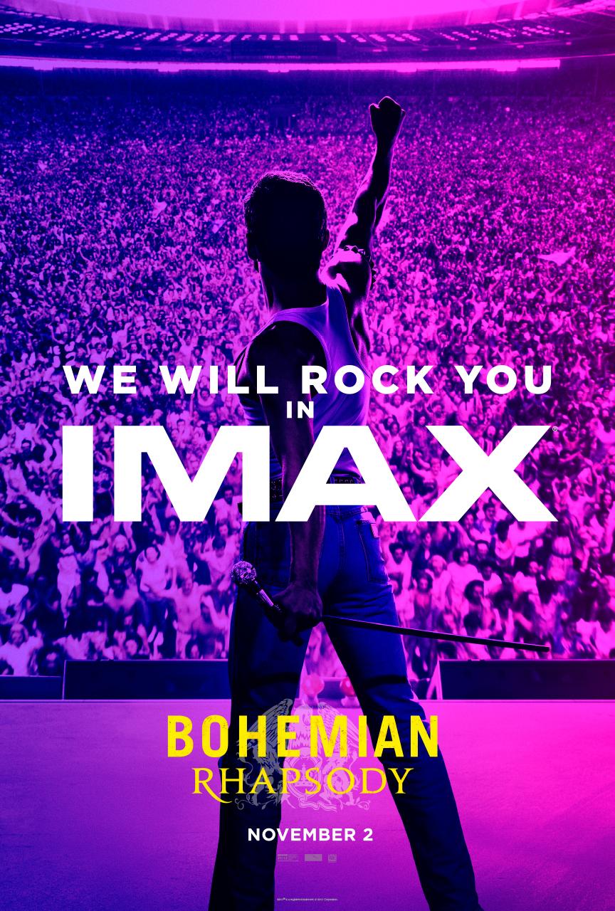 Poster IMAX Bohemian Rhapsody