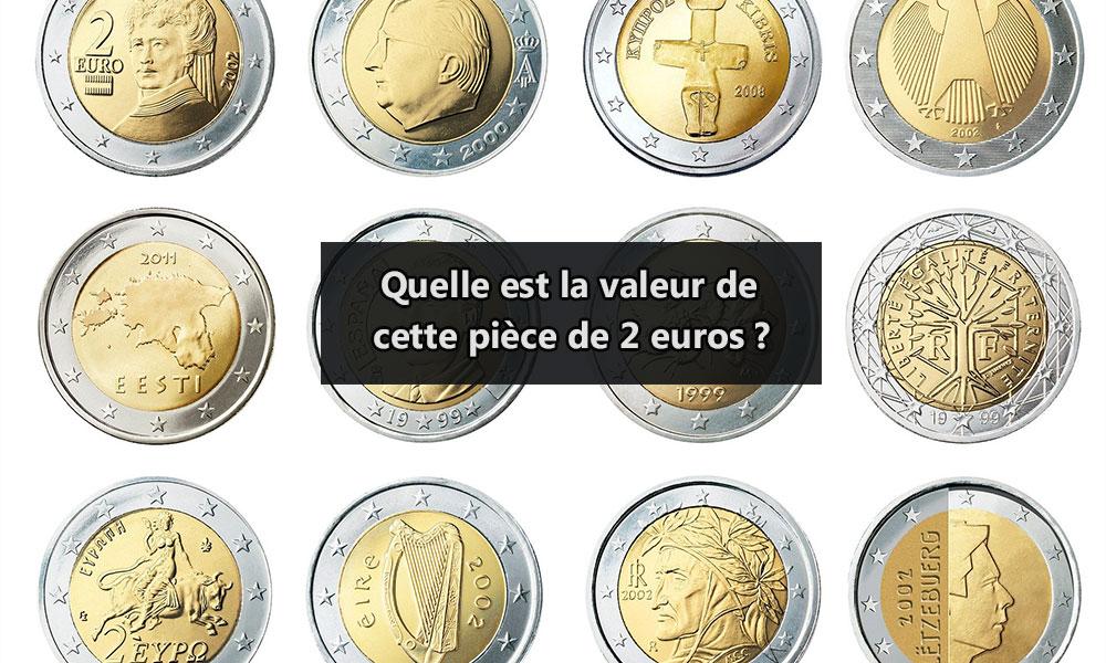 Quelle est la valeur de cette pièce de 2 euros ?