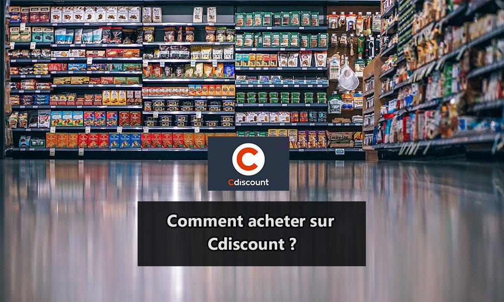 Acheter sur Cdiscount
