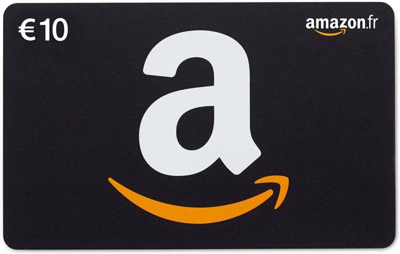 Carte cadeau Amazon