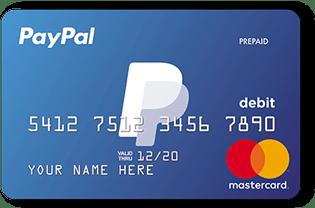 Carte bancaire PayPal