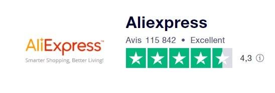 Avis Aliexpress Trustpilot