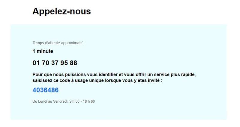 Téléphone service client Ebay